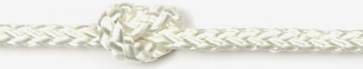8 plait standard polyester White 3mm-0