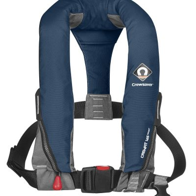 Crewsaver Crewfit 165N Sport Lifejacket Manual Navy-0
