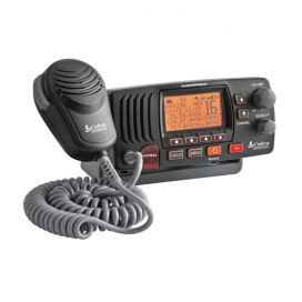 Cobra F57 Fixed VHF Marine Radio - Black-0