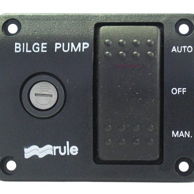 Rule 3-Way Lit Rocker Switch 12 volt DC-0