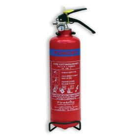 Fireblitz 1KG Dry Powder 5A 34B Fire Extinguisher-0