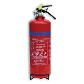 Fireblitz 2KG Dry Powder 13A 70B Fire Extinguisher-0