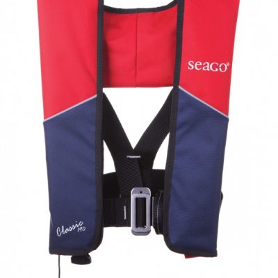 Seago Classic 190n Manual Lifejacket With Harness Red/Navy-0