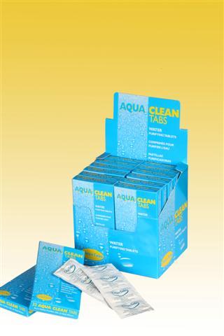 Aqua Clean Tabs Midi Box (x 32)25L / 5 Gal-0