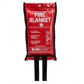 Waveline Soft Pouch Fire Blanket 1.1 x 1.1m-0