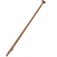 Mahogany Flag Pole 50cm-0