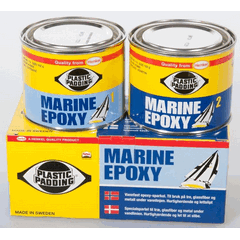 Plastic Padding Marine Epoxy 270g - 2 x Tins-0