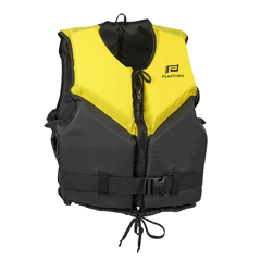 Plastimo Buoyancy Aid Trophy 50N Yellow/Black MED 50-70kg-0