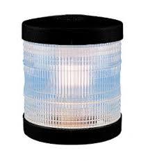 Aqua Signal Series 25-12V WHITE All round - Black Case-0