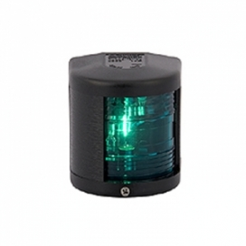 Aqua Signal Series 25-12V STARBOARD Black Case-0