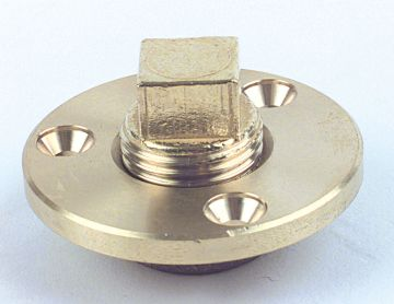 Brass Garboard Drain-0