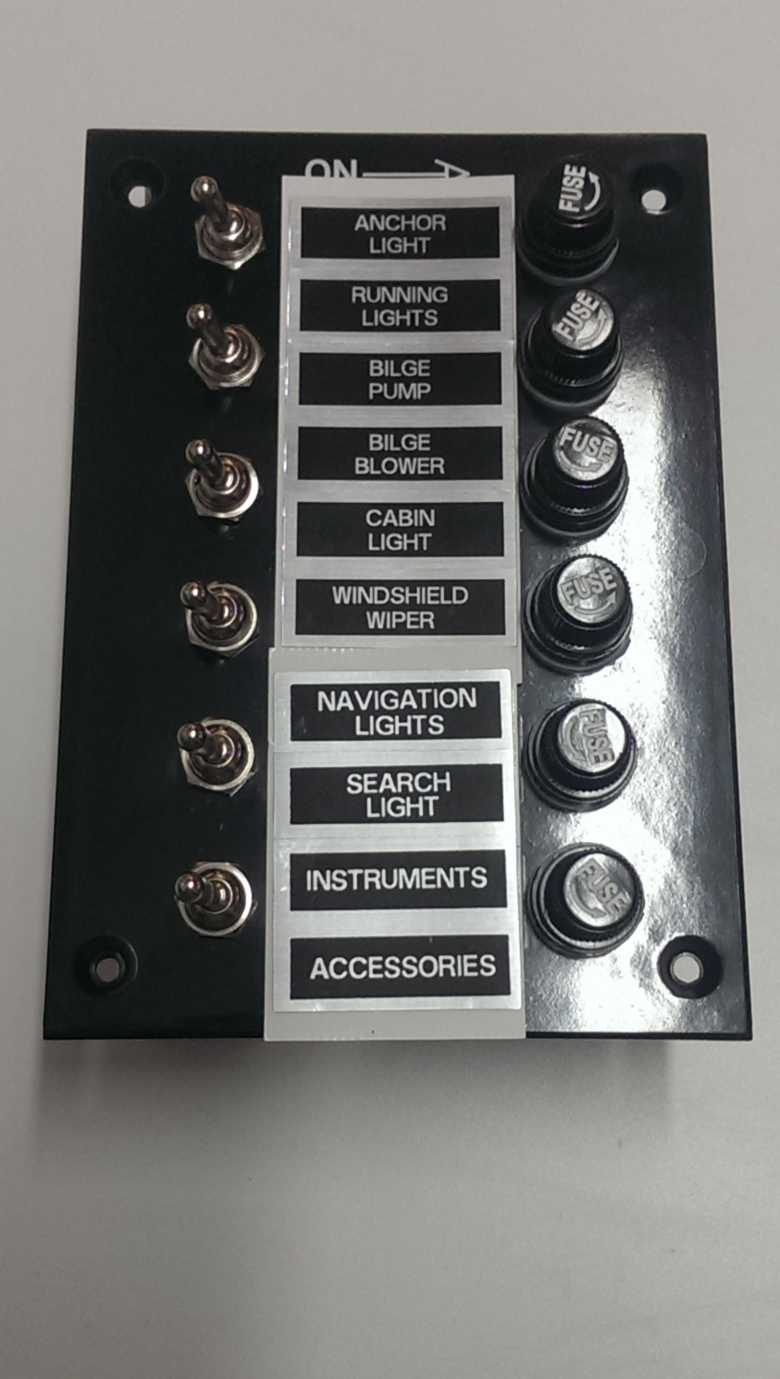 Switch Panel Gang Toggle Switch Fused