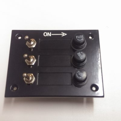 Switch Panel 3 Gang Toggle Switch Fused-0