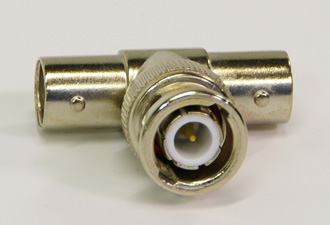 Index Marine VHF Connector - BNC T-Piece-0