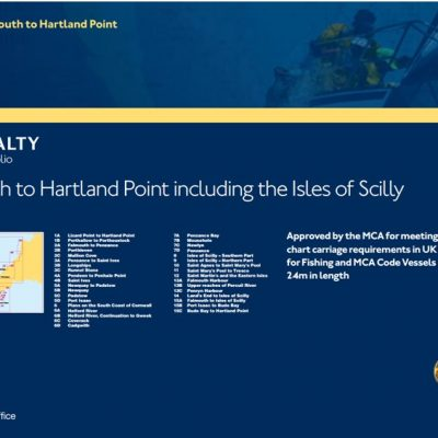 Admiralty SC5603 Falmouth to Hartland Point, including Isles of Scilly Leisure Chart Folio-0