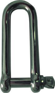 Waveline Long Dee Shackle -Stainless Steel 4mm-0
