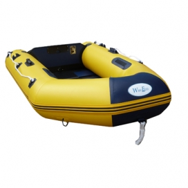 WavEco 2.50m Yellow Ultra Solid Transom with Slatted Floor -0