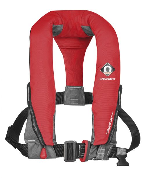 Crewsaver Crewfit 165N Sport Lifejacket Automatic Red-0