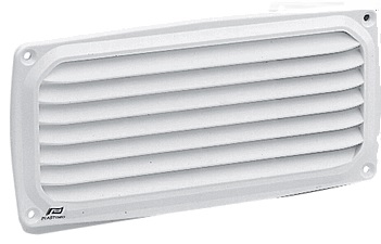 Ventilator White Plastic 200 x 100mm-0
