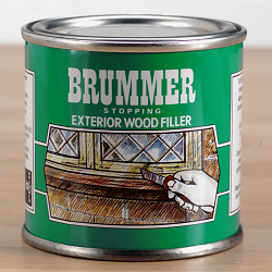 Brummer Green Label Exterior Woodfiller 250g-0