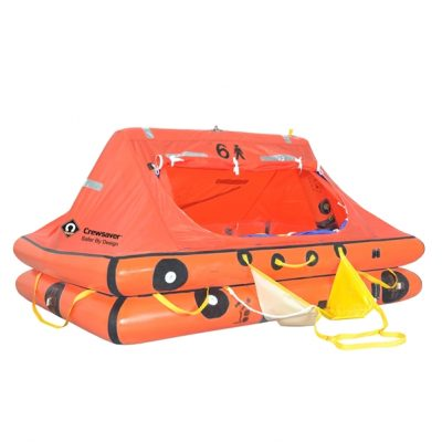 Crewsaver ISO Ocean Liferaft Under 24hr - 6 Man in Container-0
