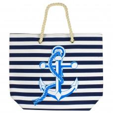 Beach Bag - Anchor, Navy-0