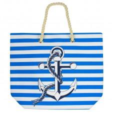 Beach Bag - Anchor, Blue-0