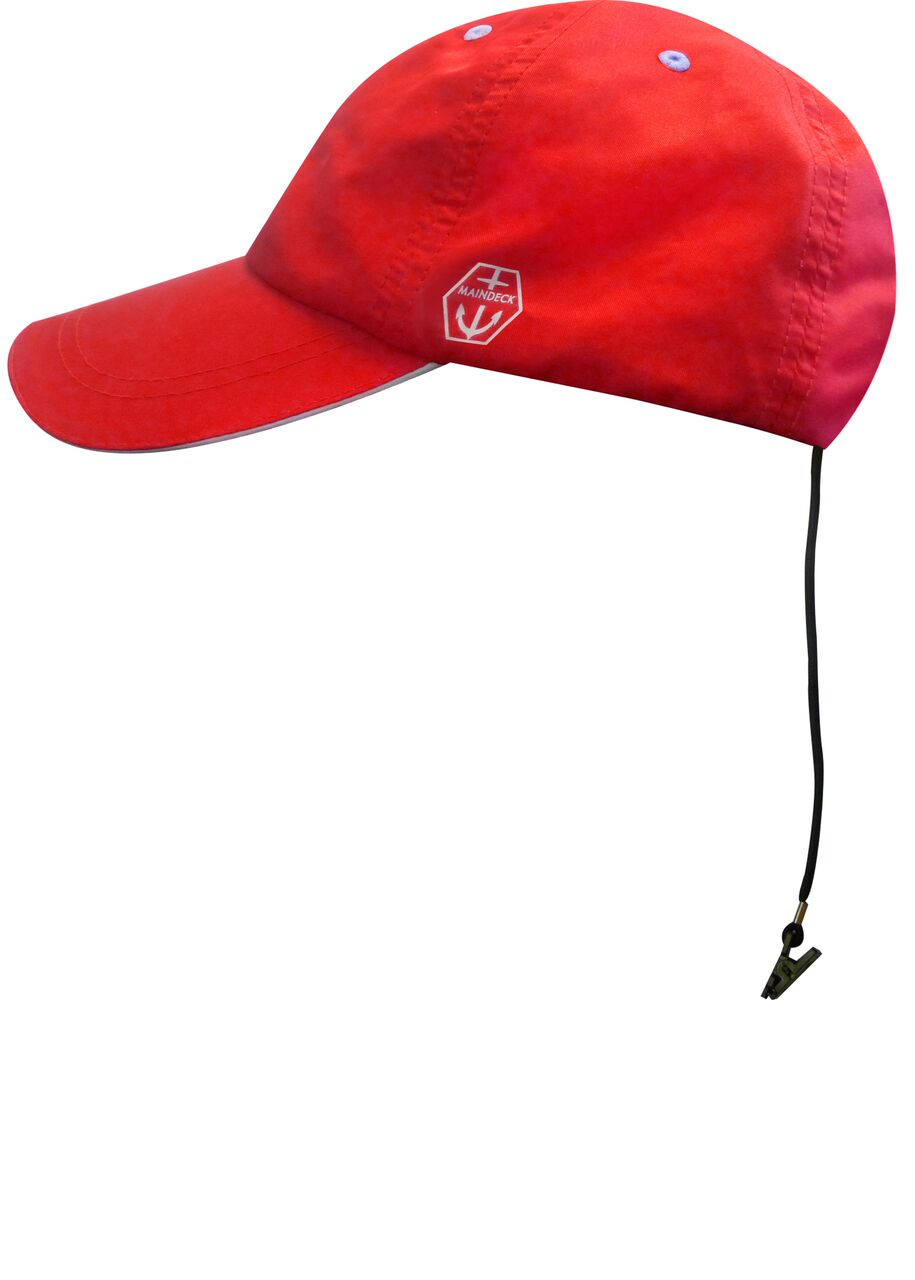 Maindeck Sailing Cap Red-0 334b5a7ebdf0