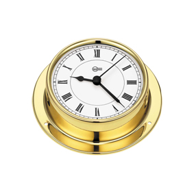Barigo Clock Brass 85mm DIAL (110 X 32mm) B683-0