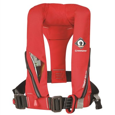 Crewsaver Crewfit 150N Junior Automatic With Harness Red-0