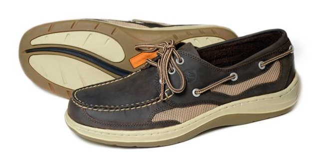 Apache Moose Deck Shoe Bark-0