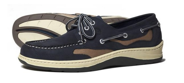 Apache Moose Deck Shoe Navy-0