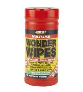 Sika Everbuild Wonder Wipes Pack Size: 100 per tub-0