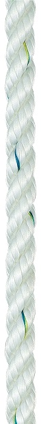 LIROS Prestretch Polyester Rope 00121 White 8mm-0