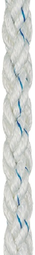 LIROS Squareline Rope 16mm White-0