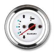 Suzuki Analogue Marine Trim Gauge White-0