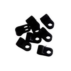 Cable + Pipe Clips Diameter 9.5 - 10.0mm-0