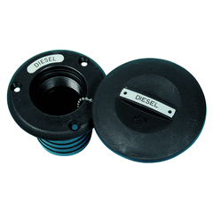 "Fuel Deck Filler Black 1 1/2""-0"