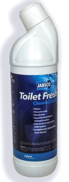 Jabsco Toilet Fresh Clean & Condition Toilet Cleaner 1l Bottle-0