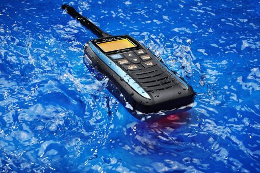Icom IC-M25 Euro Handheld Marine VHF - Buoyant - Grey or Blue-4425