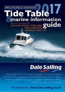 Dale Sailing Tide Table